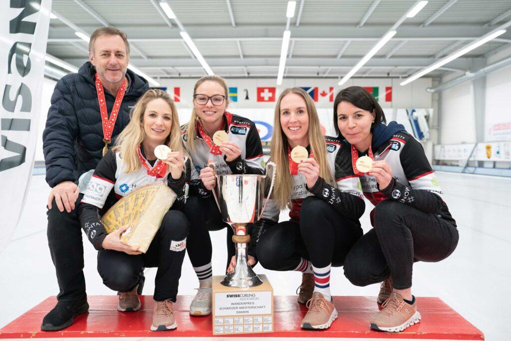 Les championnes suisses 2021