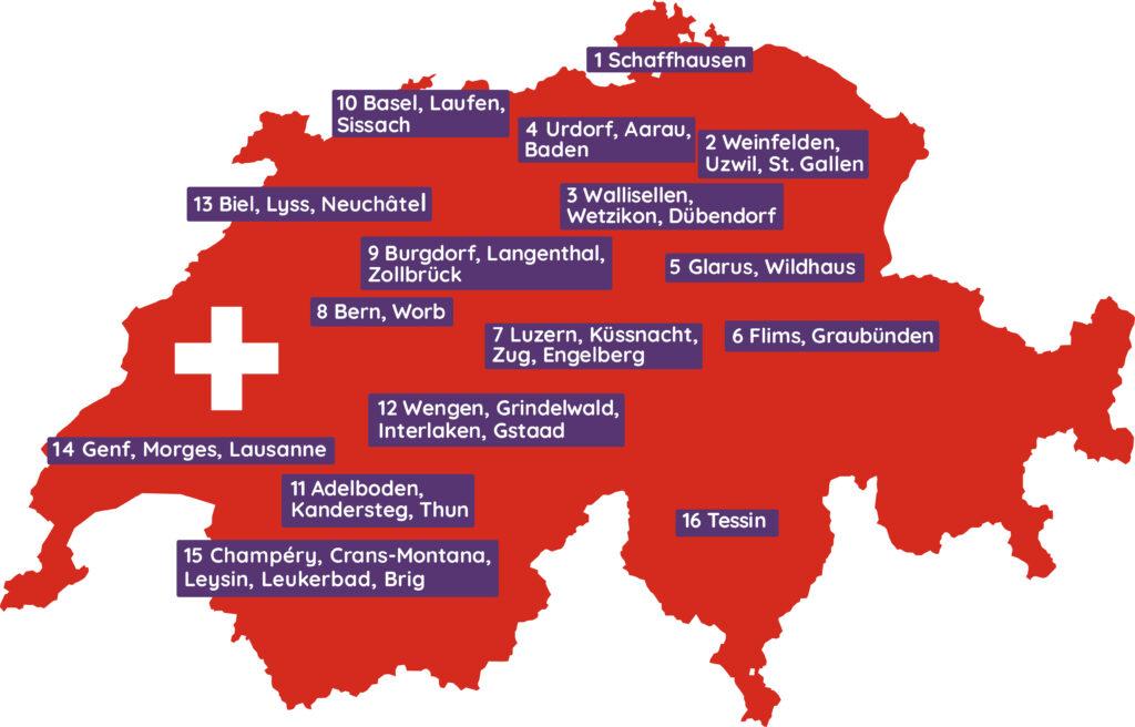 Karte CH