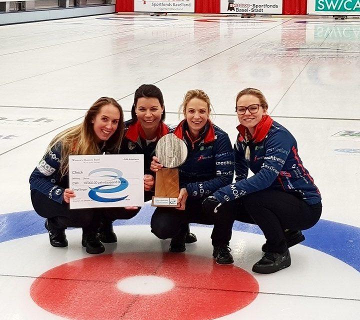 Heimsieg am Women's Masters in Basel für Tirinzoni