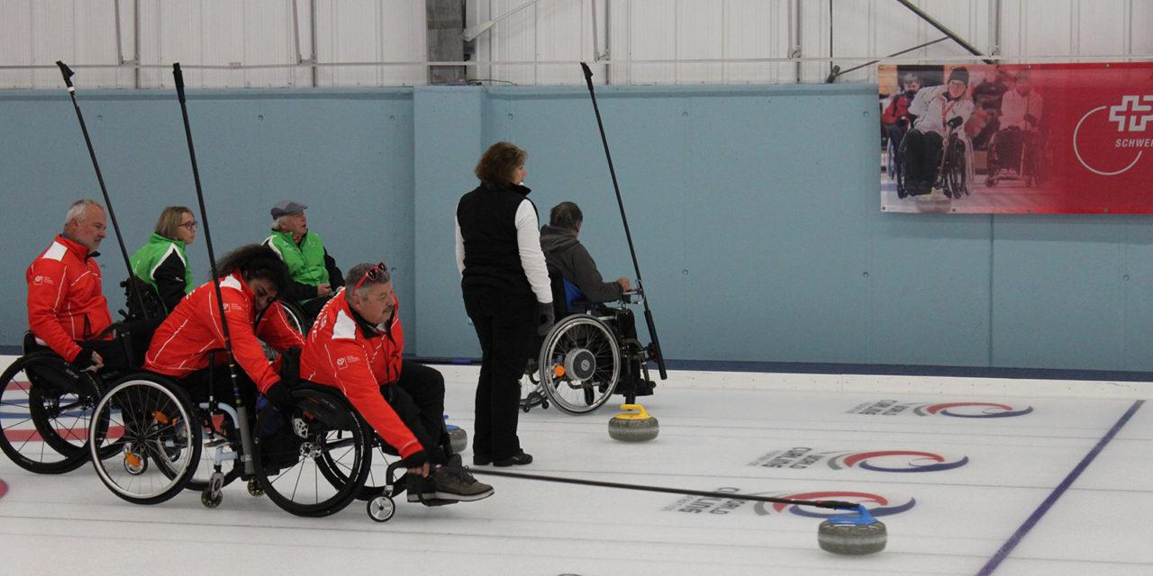 12. Int. Rollstuhl Curling Turnier 11.-13.10.2019 Wetzikon ZH