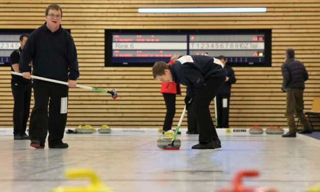Le Curling fait partie de Special Olympics!