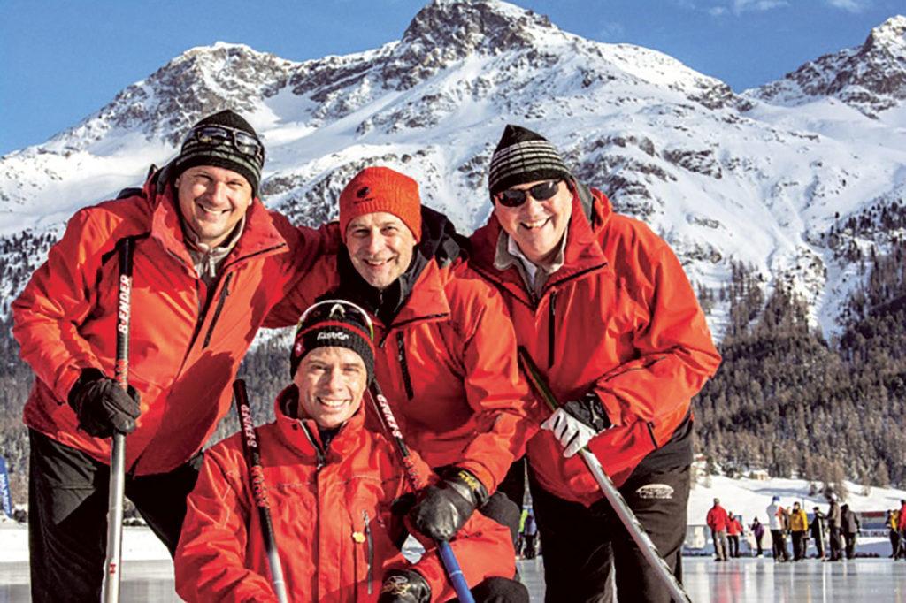 2019: Sieger der Coppa Romana in Silvaplana: CC Lugano mit Dominic Andres, Daniel Müller, Patrick Hürlimann, Jürg Wernli Photo © CC Silvaplana