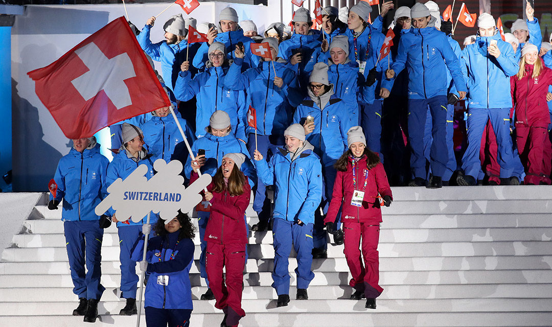 La flamme Olympique de retour à Lausanne