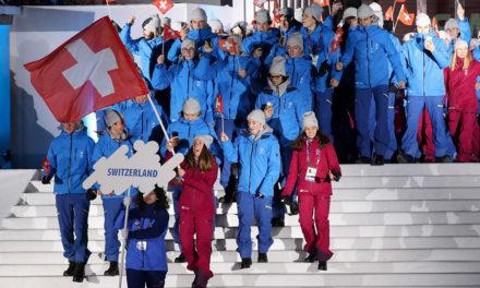 Das Olympische Feuer ist zurück in Lausanne!